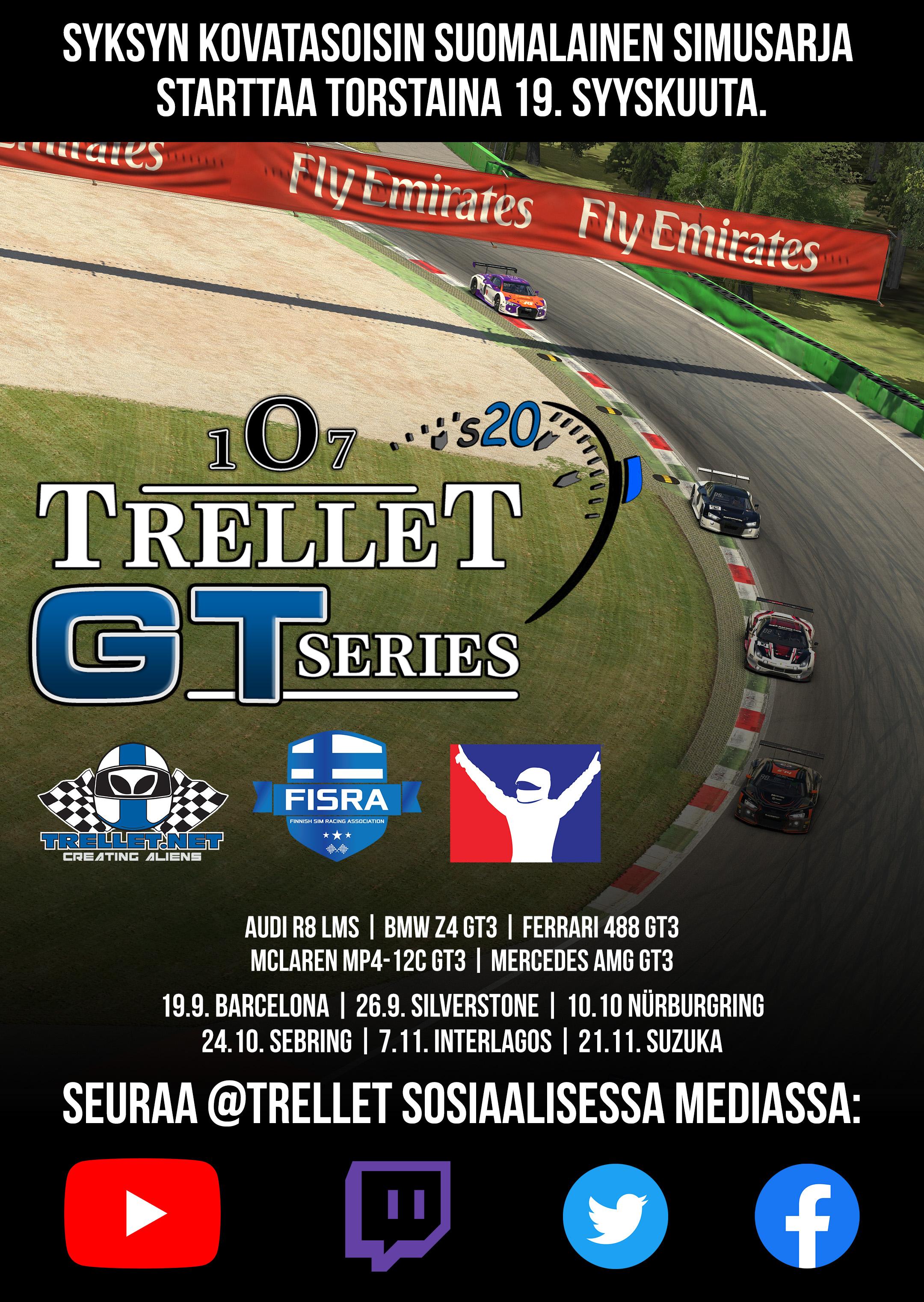 Paluu GT3-autoihin!